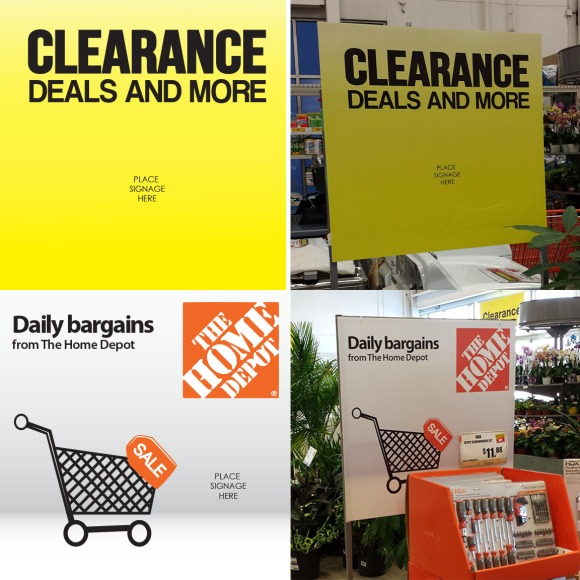 Custom signage for Home Depot!